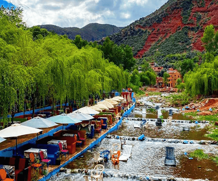 Excursiones desde Marrakech a Ourika