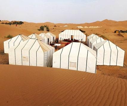 paseo en camello 2 noches