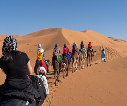 Desert tour from Tangier 4 days