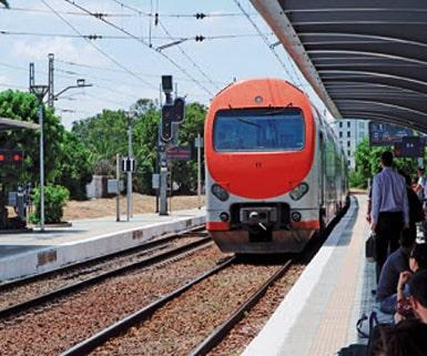 train in morocco